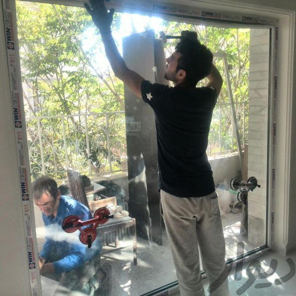 نصاب درو پنجره دو جداره